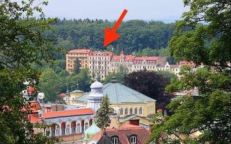 Lázeňská regenerace - Mariánské Lázně s procedurami a polopenzí v hotelu Pramen