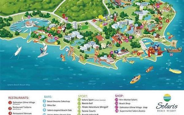 Mobilní domky Solaris, Chorvatsko, Severní Dalmácie, Šibenik, vlastní doprava, bez stravy5