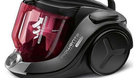 Vysavač podlahový Rowenta X-TREM POWER CYCLONIC 4* HOME & CAR RO6963EA černý/červený + DOPRAVA ZDARMA