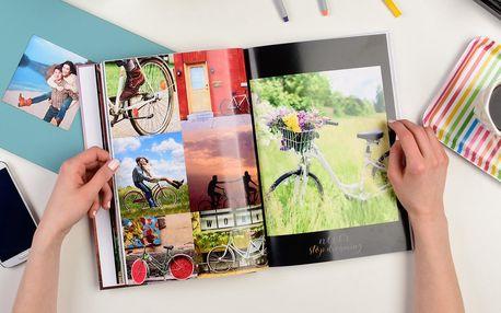 Fotokniha s pevnou vazbou, výběr z více velikostí