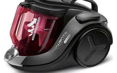 Podlahový vysavač Rowenta X-TREM POWER CYCLONIC 4* HOME & CAR RO6963EA černý/červený + DOPRAVA ZDARMA