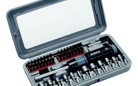Sada nářadí Bosch 46dílná šroubováků kov/plast