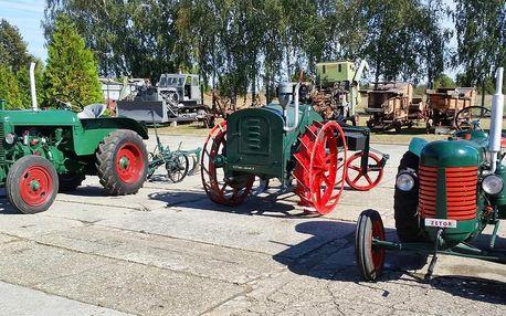 Vstup do Muzea zemědělských strojů pro 1 i rodinu