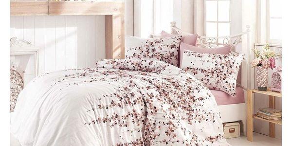 Night in Colours Bavlněné povlečení Time Pink2