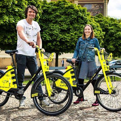 Bikesharing: 50 či 70 kreditů na půjčení elektrokol