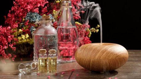 Elektrický aroma difuzér a éterický olej zdarma