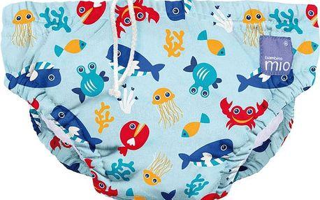 BAMBINO MIO Kalhotková koupací plena Deep Sea Blue vel.L (9-12kg)