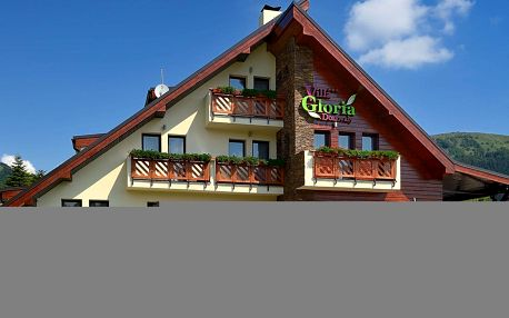 Oblíbená Villa Gloria *** v Nízkých Tatrách s wellness