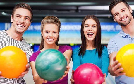 2 hodiny bowlingu až pro 8 osob