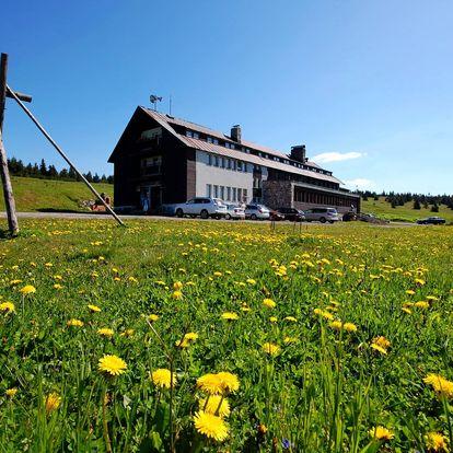 Last minute letní dovolená na Dvorské boudě jen 7 km od Sněžky. Sauna v ceně!