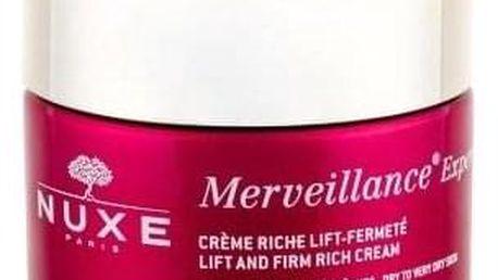 NUXE Merveillance Expert Lift And Firm Rich 50 ml denní zpevňující a liftingový krém pro suchou pleť pro ženy