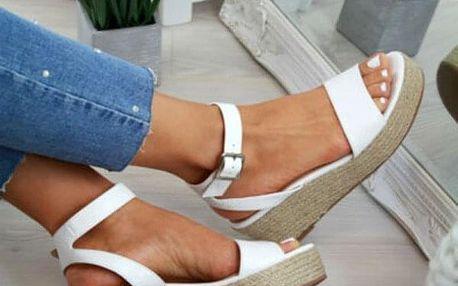 Dámské sandály na klínku Ellia