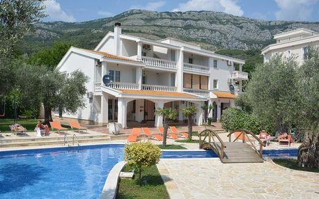 Černá Hora - Budva na 8 dnů, polopenze