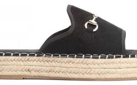 Dámské černé pantofle Maricota 6277