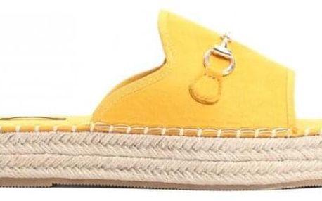 Dámské žluté pantofle Maricota 6277