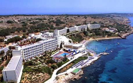 Malta - Mellieha na 8 dní, all inclusive, plná penze nebo polopenze s dopravou letecky z Prahy