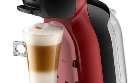 Espresso Krups NESCAFÉ Dolce Gusto Mini Me KP120H31 černé/červené
