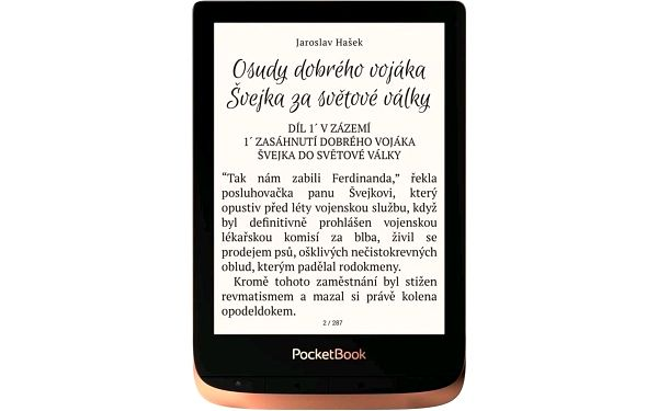 Čtečka e-knih Pocket Book 632 Touch HD 3 - Spicy Copper (PB632-K-WW)2