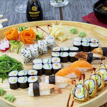 Sushi Miomi: 30 nebo 40 rolek s rybami i avokádem