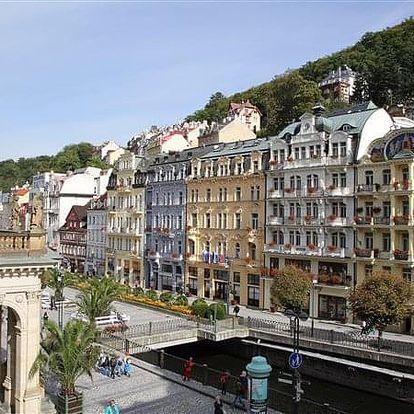 Karlovy Vary na 3-8 dnů, polopenze