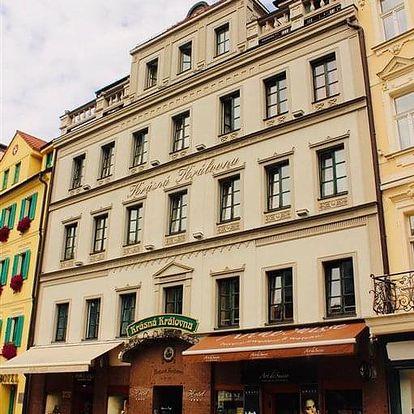 Karlovy Vary na 3-8 dnů, snídaně v ceně