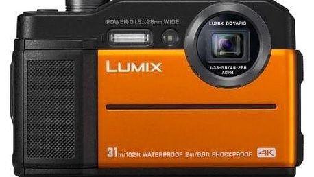 Panasonic Lumix DC-FT7 oranžový