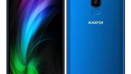 Mobilní telefon Aligator S6000 Dual SIM modrý (AS6000BE)