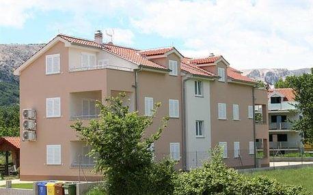 Chorvatsko - Baška na 8-10 dnů