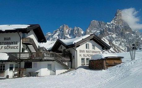 Itálie - Dolomiti na 4-8 dnů, polopenze