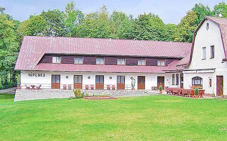 Krkonoše: rodinný penzion v osadě Horní Albeřice se vstupem do wellness, zapůjčením horských kol a polopenzí