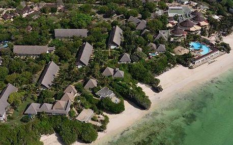 Keňa - Diani Beach na 8 až 9 dní, polopenze s dopravou letecky z Prahy