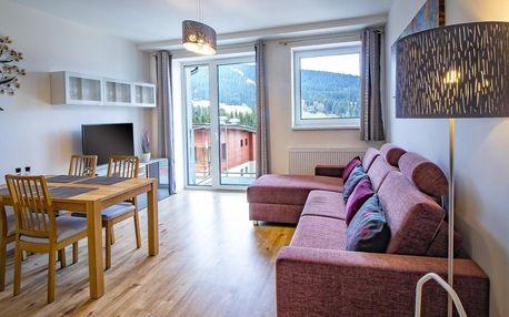 Krušné hory s ubytováním v luxusních apartmánech až pro 6 osob