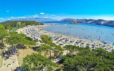 Chorvatsko - Ostrovy sev.Jadranu autobusem na 10 dnů