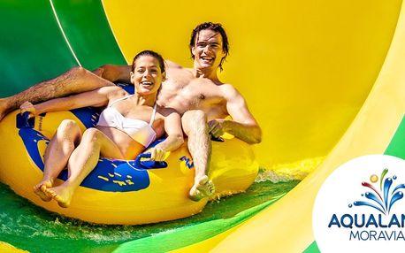 Celý den v Aqualandu Moravia: až do konce září
