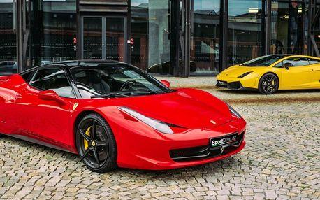 Ovládněte Ferrari 458 Italia nebo Lamborghini