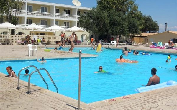 Hotel Messonghi Beach, Korfu, letecky, all inclusive2