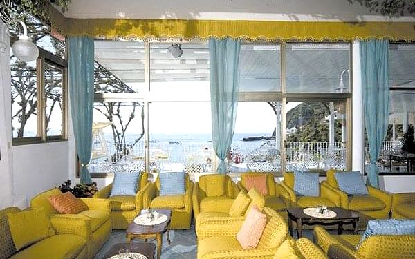 Hotel CASA ROSA, Ischia, letecky, polopenze2