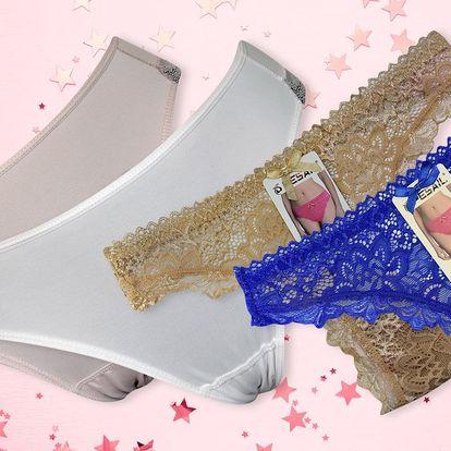 Dámské krajkové kalhotky: klasické nebo tanga