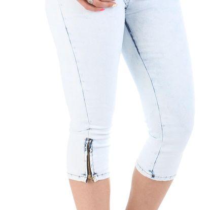 Dámské jeansové kapri Sublevel