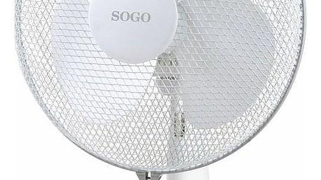 Ventilátor stolní SOGO SS-21410 bílý