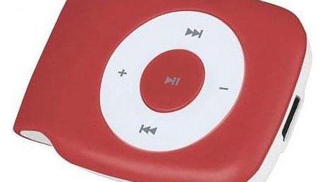 MP3 přehrávač SMARTON SM 1800 red