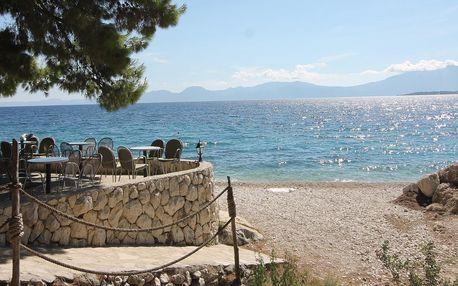 Chorvatsko - autobusem do kempu přímo u moře