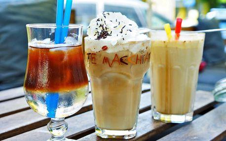 Ledová káva, frappé nebo espresso s tonikem