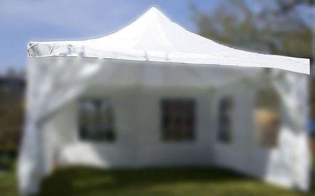 Garthen Střecha na zahradní párty stan 4 x 4 m bílá D00602