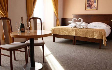 Ubytování na zámku v Napajedlech se snídaní na 3 dny