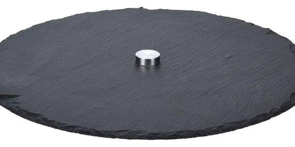 Otočný servírovací tác Stone 33 cm