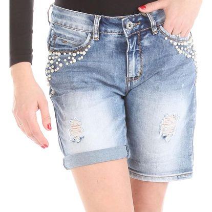 Dámské jeansové kraťasy Rock Angel