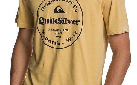 Tričko Quiksilver Secret Ingredient rattan XL