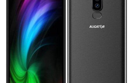 Mobilní telefon Aligator S6000 Dual SIM černý (AS6000BK)