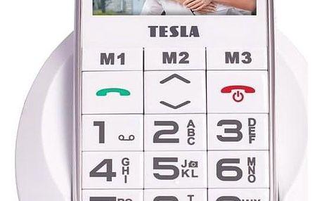 Tesla SimplePhone A50 bílý (TAMBPSNA50WH)